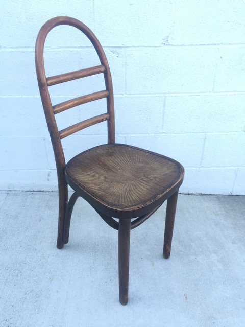"RSS Bentwood ladder back"" $60"
