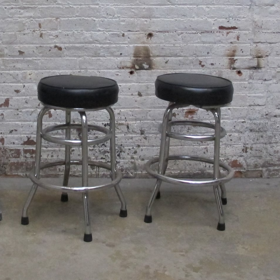 Diner Stools (1) with Back