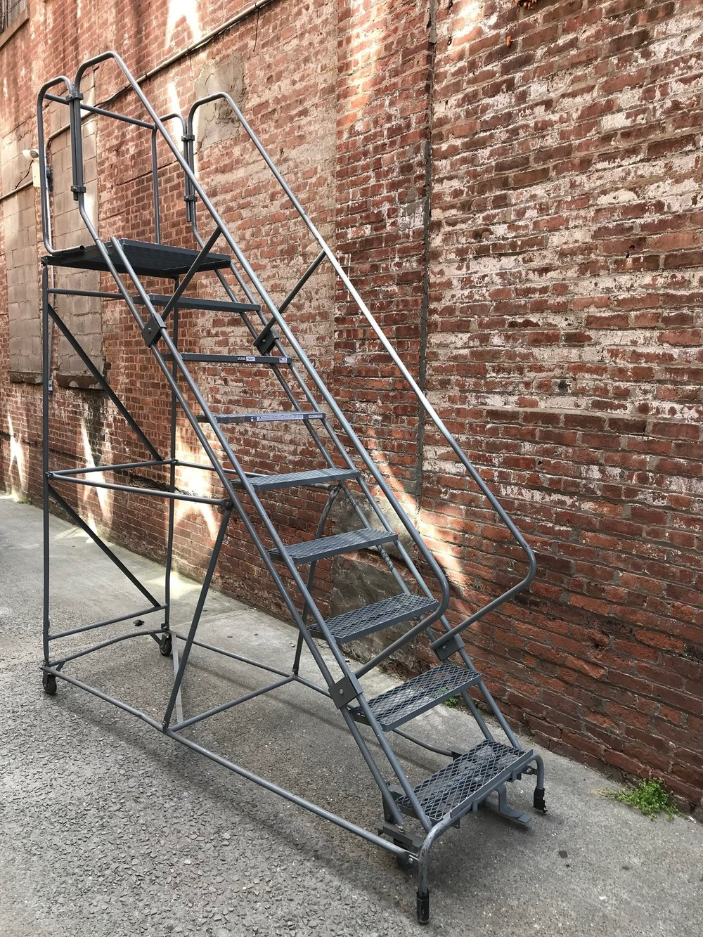 9u0027 Rolling LADDER   Light $200