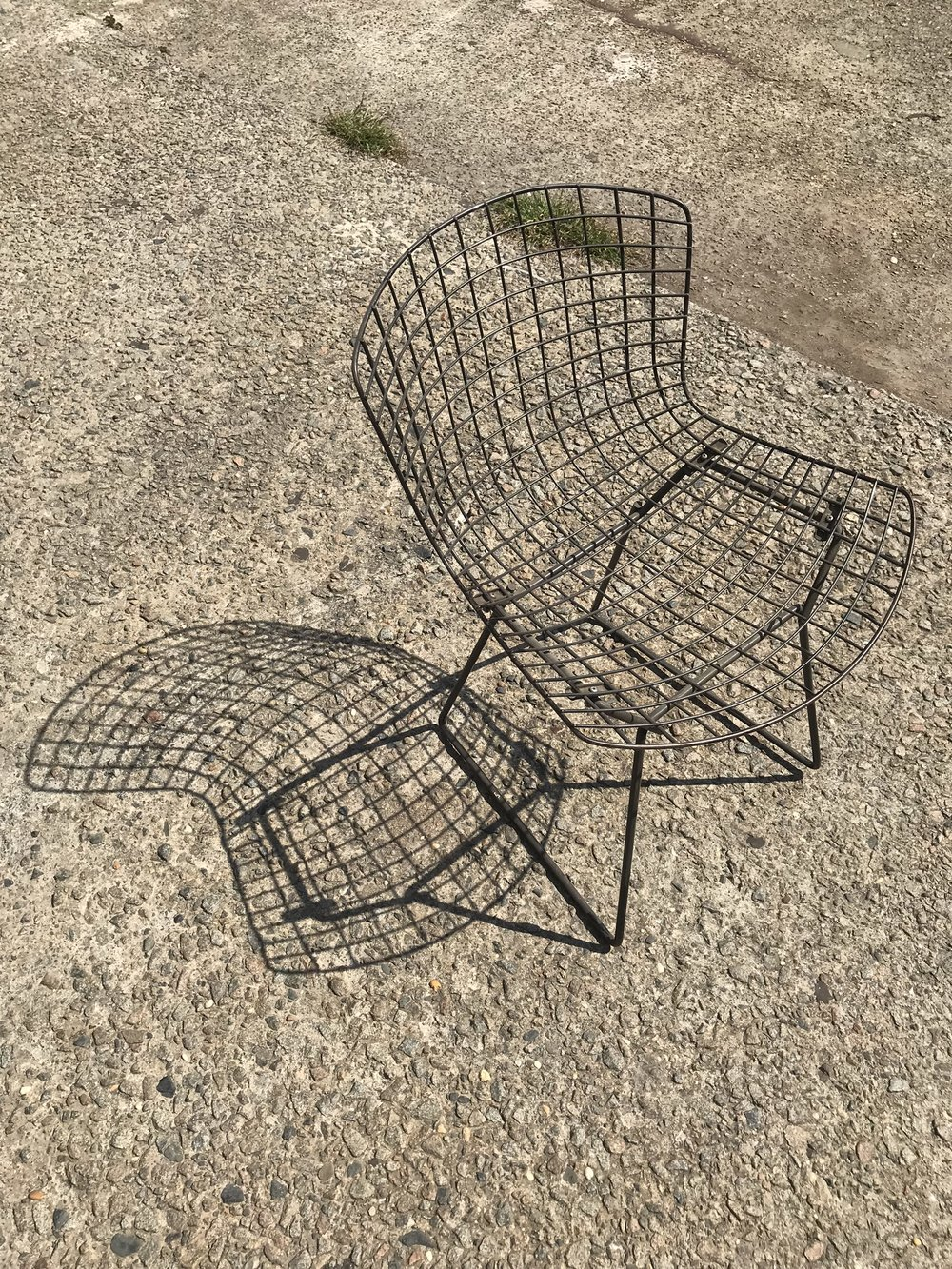 Black Grid Chair $55