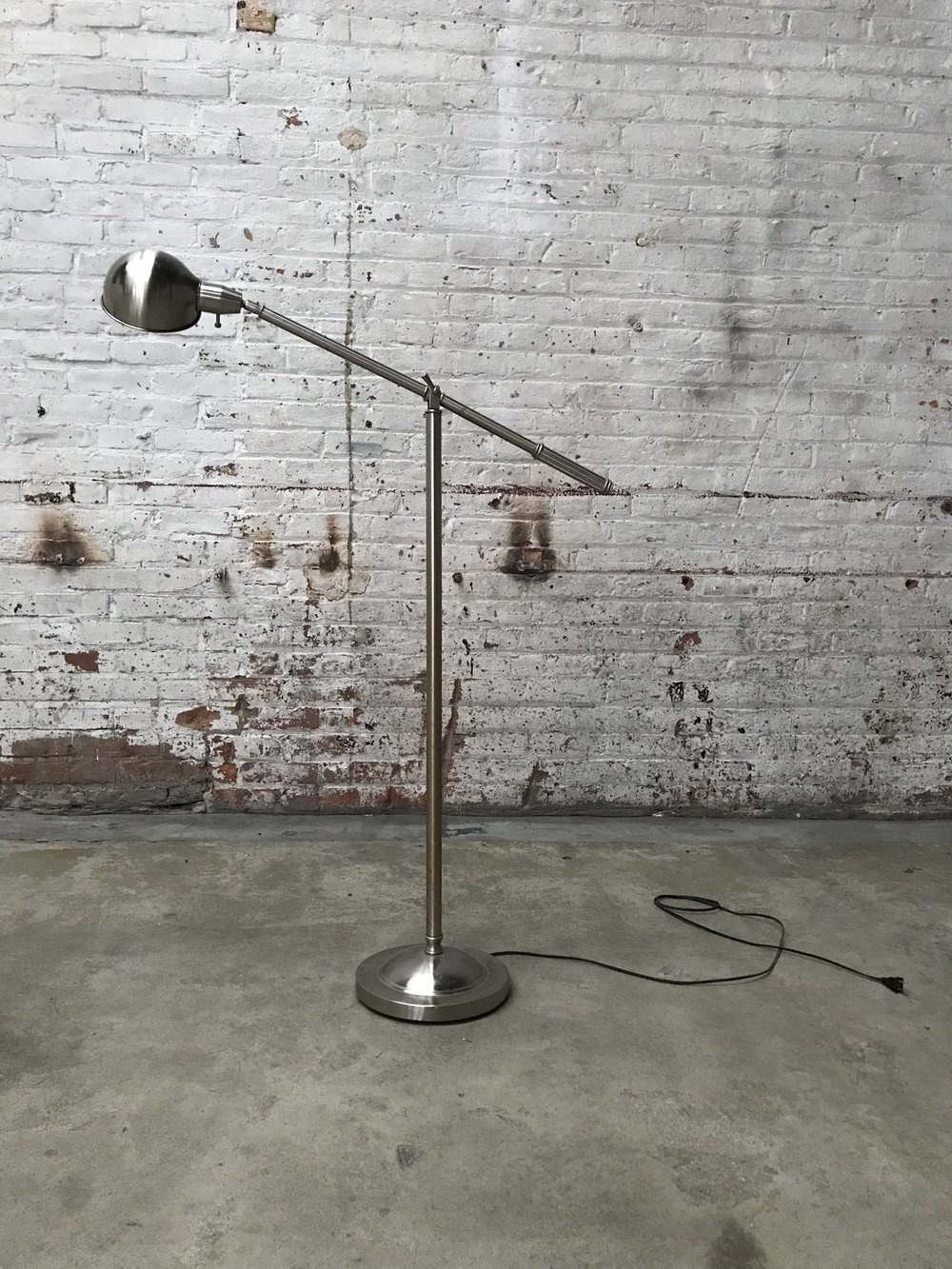 Standing swing arm lamp $75