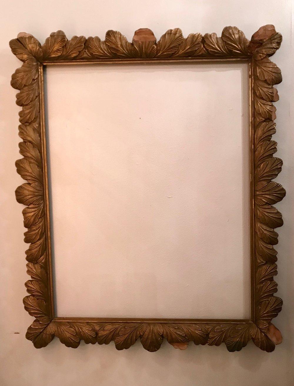 Dark Gold LEAF Frame $35