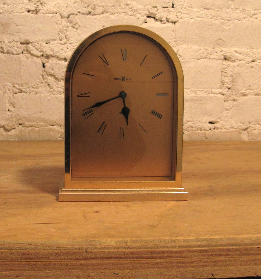 Desk Clock $25