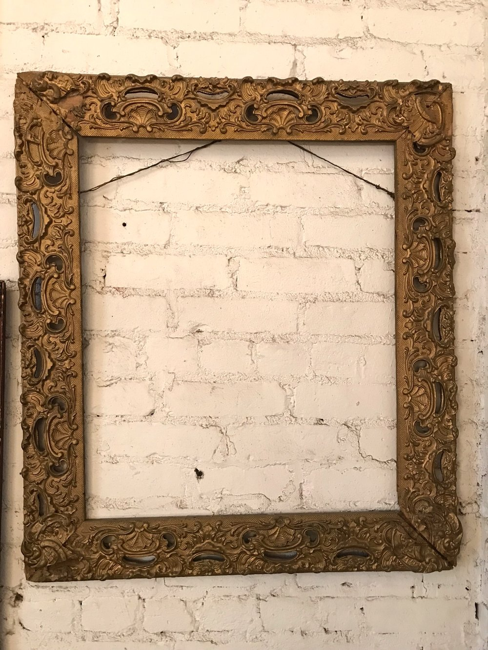 Ornate Gilded Frame
