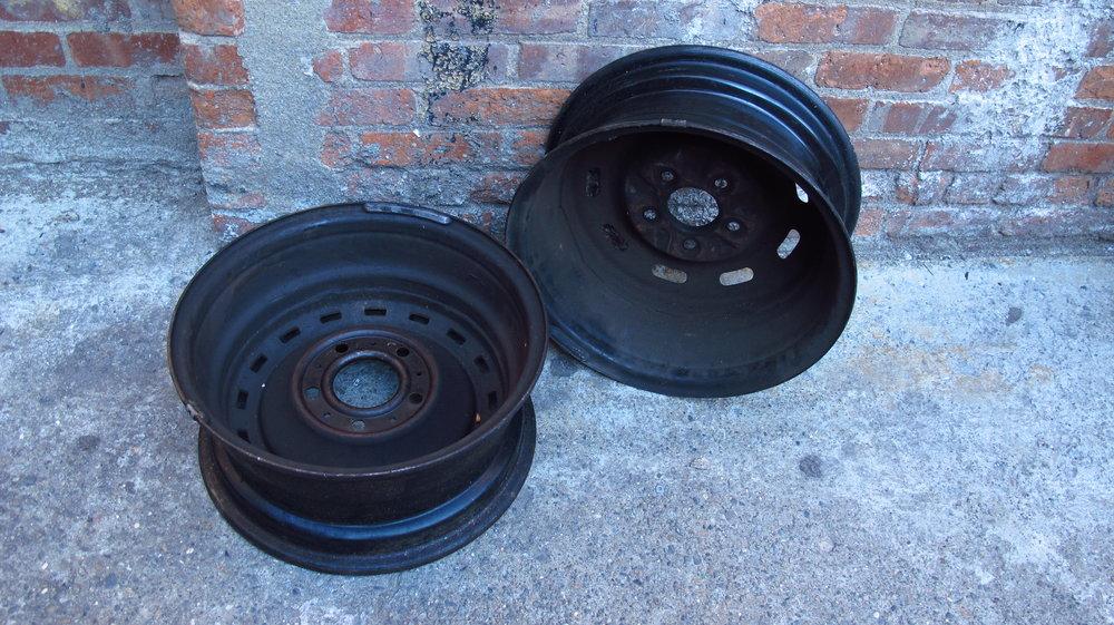 Black rims (2) $45ea