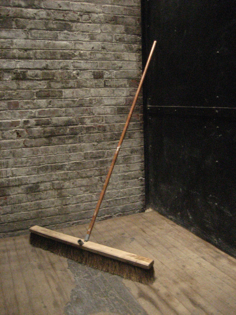 Large wide broom $20