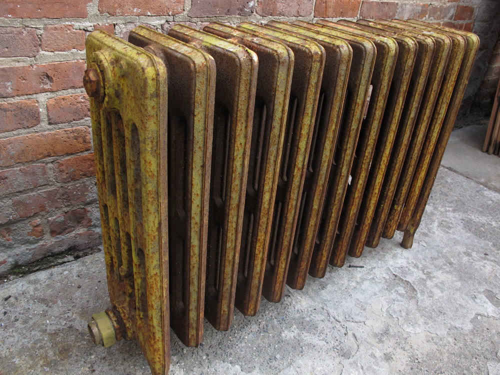 Yellow Radiator $75