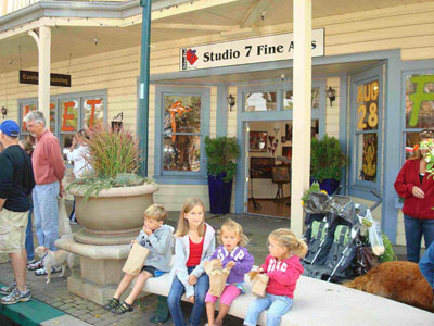 Studio Seven Arts in Downtown Pleasanton, 400 Main Street.
