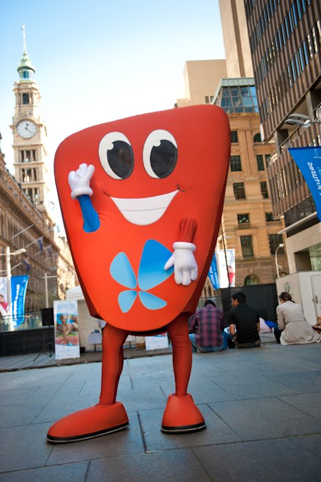 O'Liver is the 'Love Your Liver' mascot