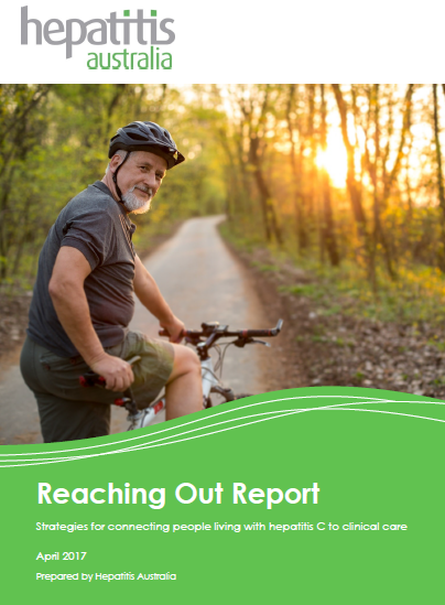 Cover of Reaching Out Report