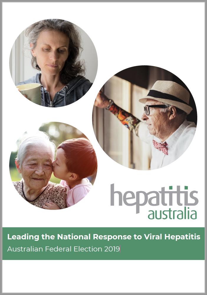 Cover of Hepatitis Australia Election Document