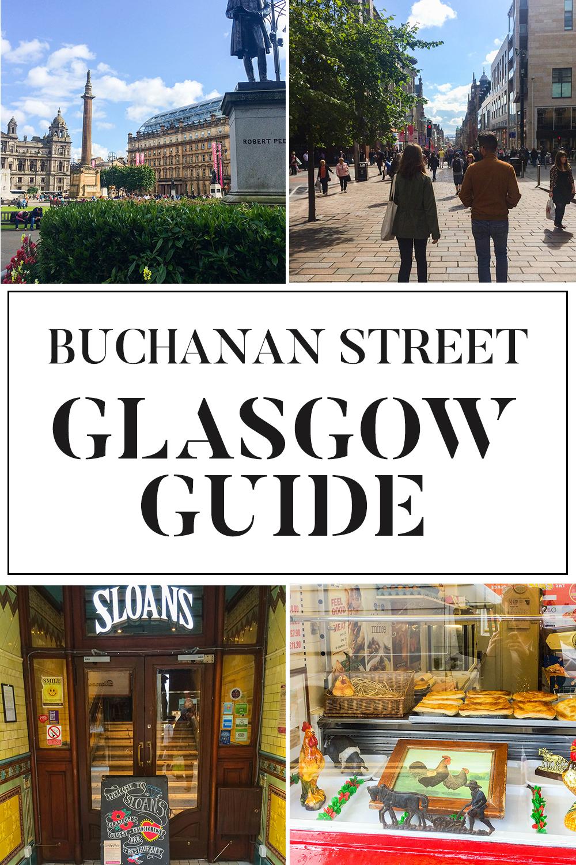 Buchanan Street Guide Glasgow