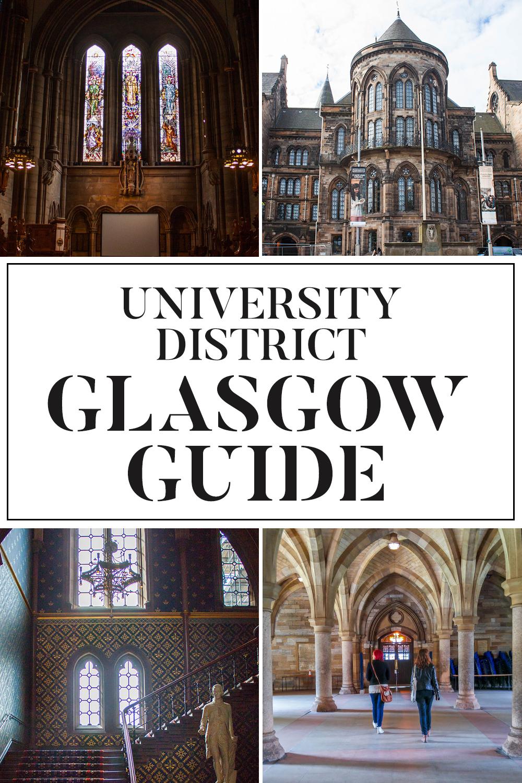 Exploring Glasgow's University District