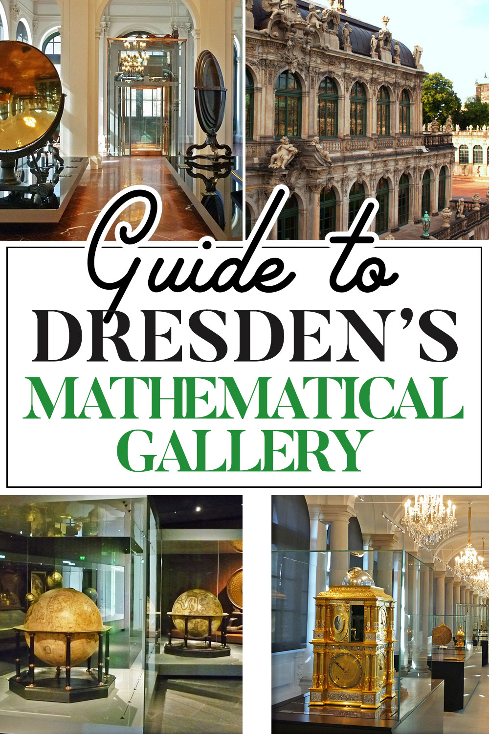 Exploring Dresden's Mathematical Gallery