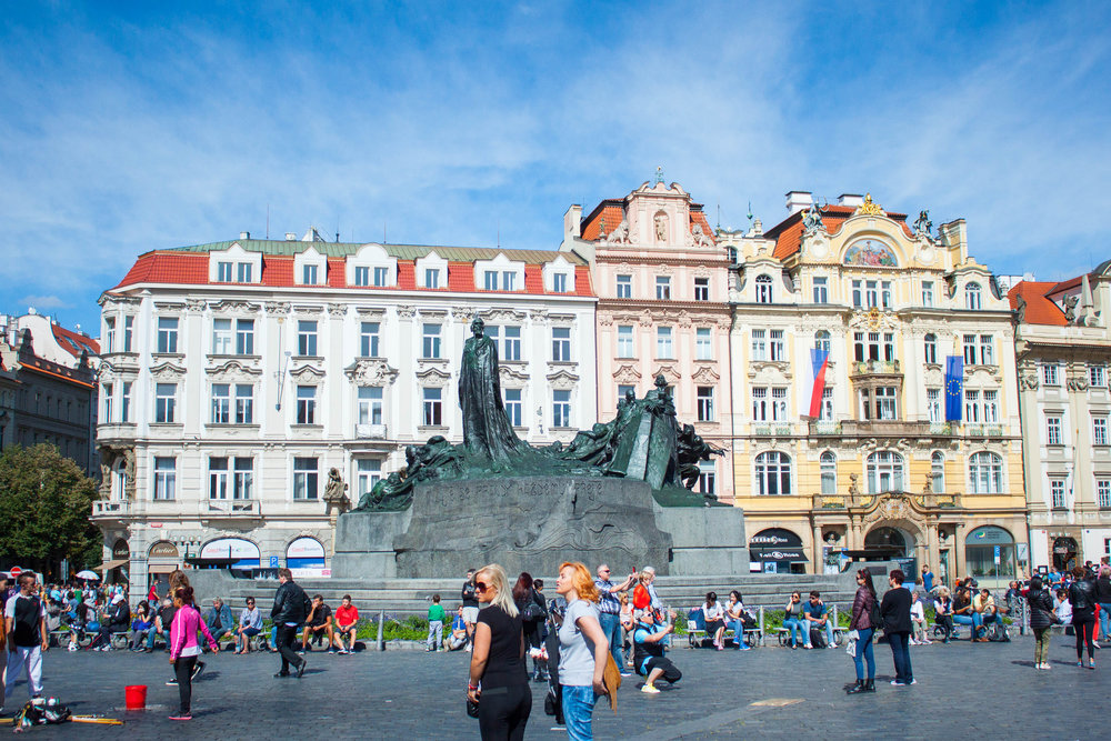 Self Guided Walking Tour of Prague