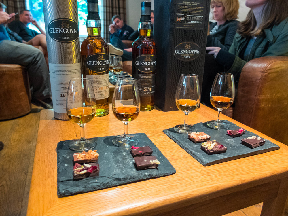 Exploring The Glengoyne Distillery Whisky