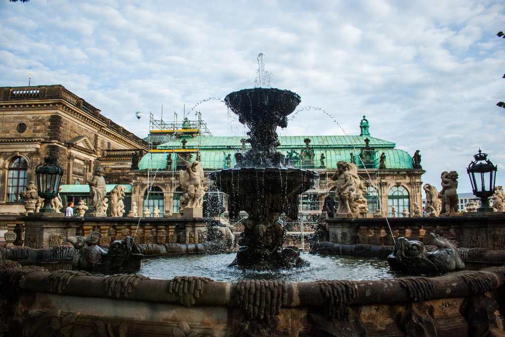 Tour of Dresden's Zwinger
