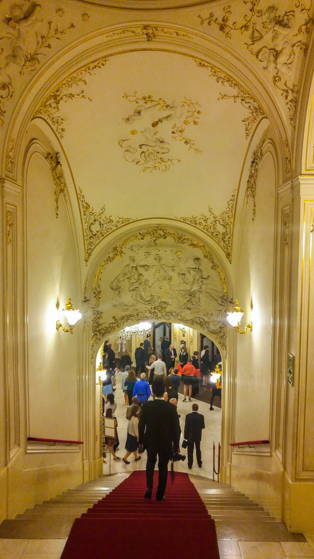 A Night out at the Prague State Opera