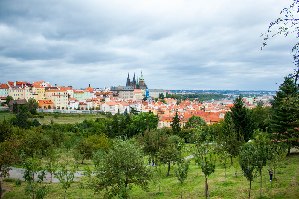 Self Guided Walk Along Petrin Hill, Prague