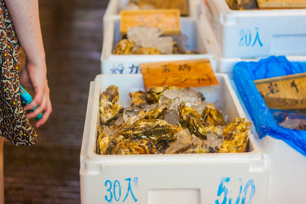 Guide to The Tsukiji Fish Market