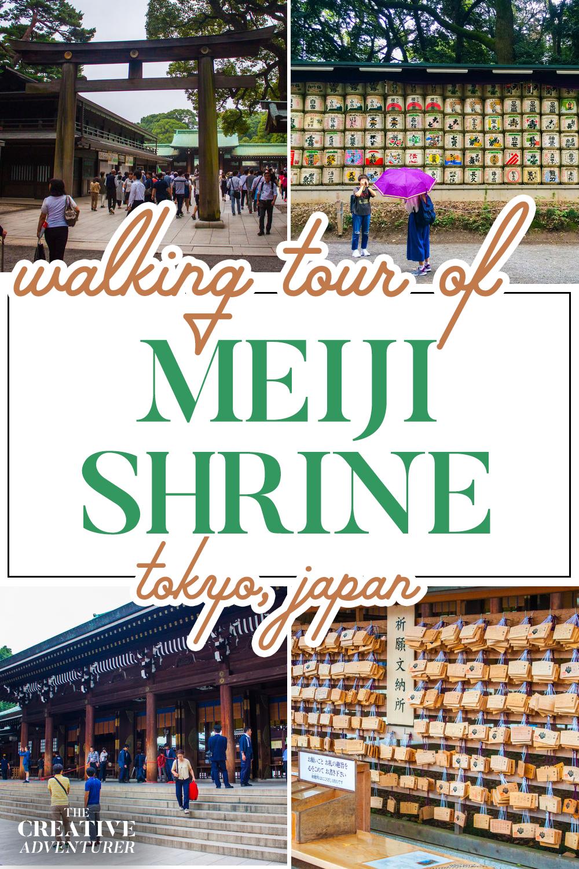 Walking Tour of Meiji Shrine Tokyo