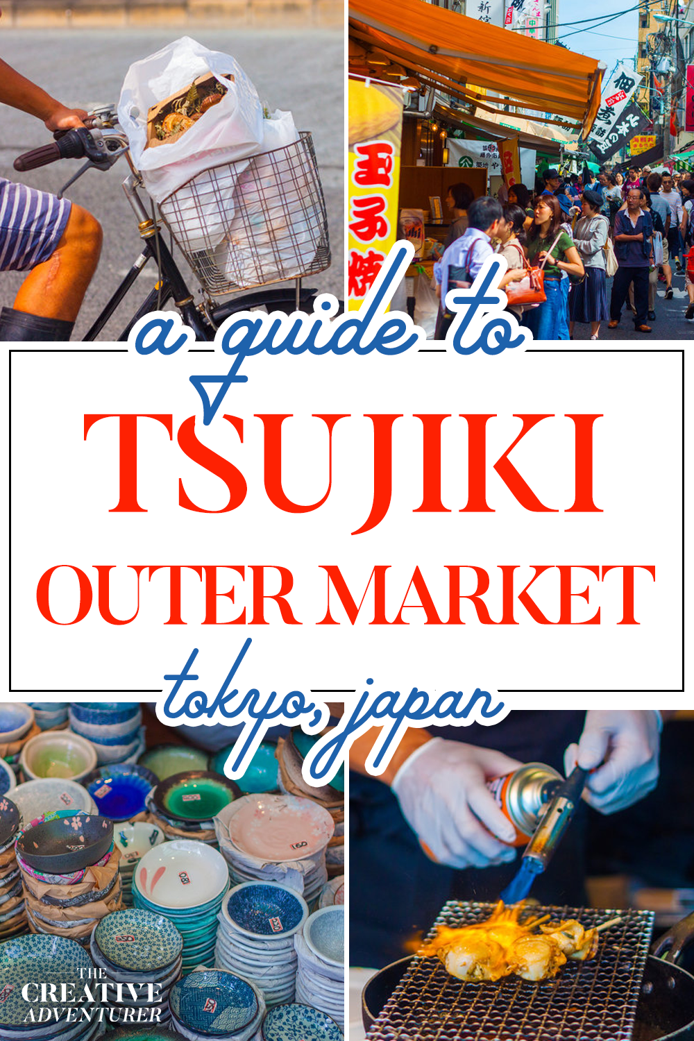 Guide to the the Tsukiji Outer Market