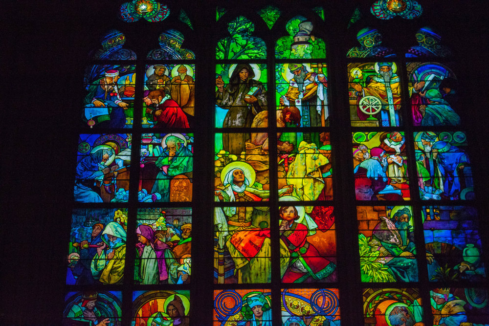 A Guided Tour Of St Vitus Cathedrals Incredible Stained Glass