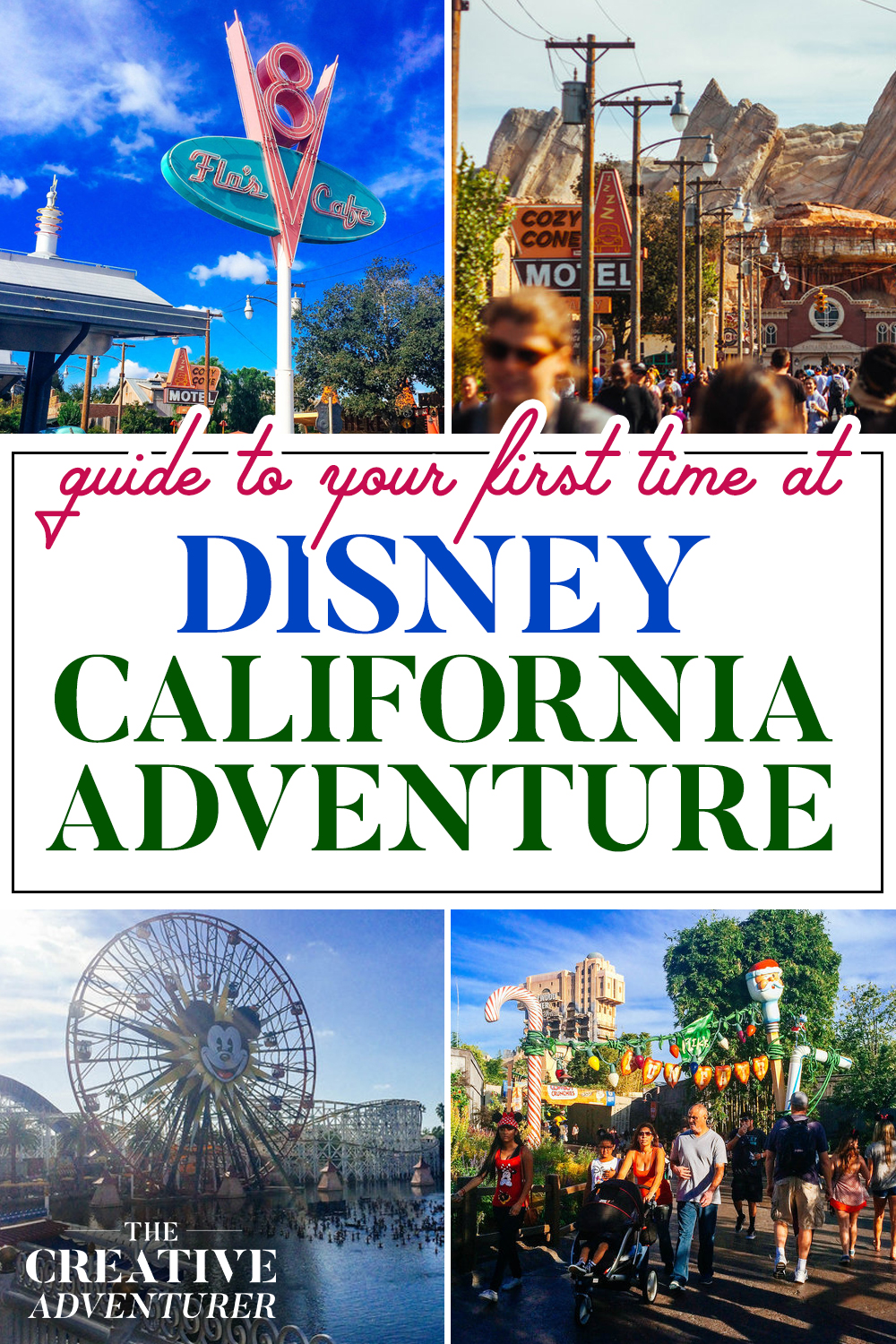 First Visit to Disney California Adventure