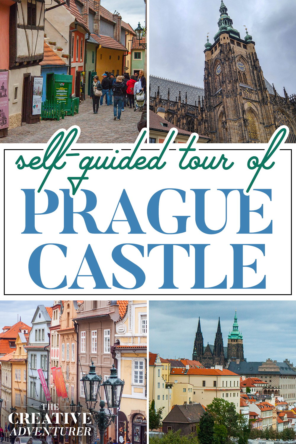 Self Guided Tour of Prague Castle