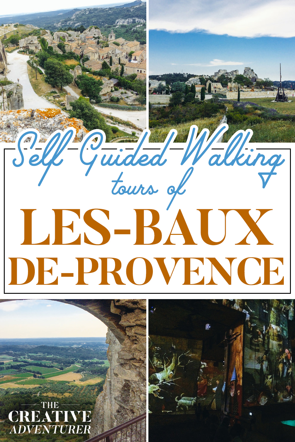 Self-Guided Walking Tour of Les Baux-de-Provence