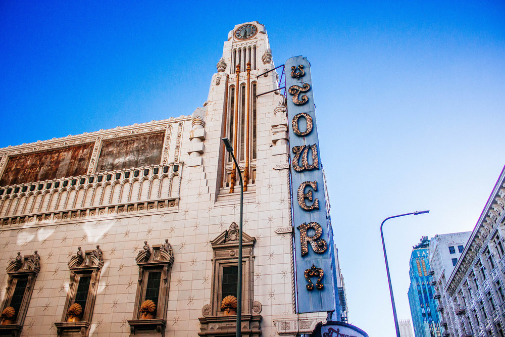 Self Guided Architectural Walking Tour of Downtown Los Angeles, the beautiful hidden art deco streets of California
