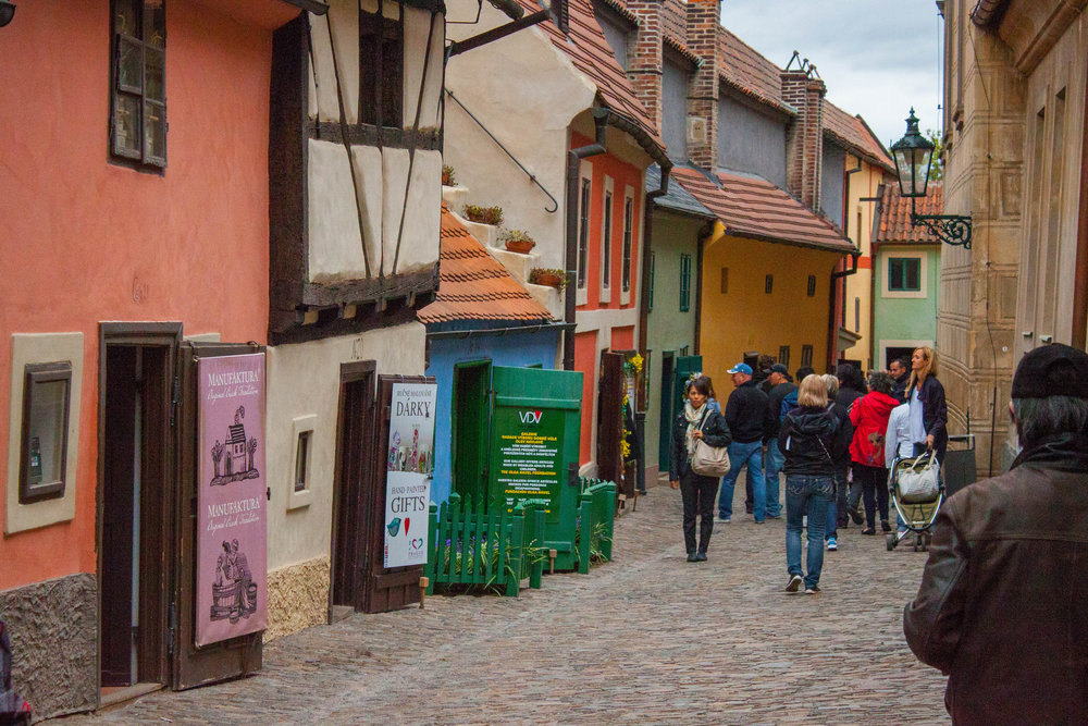 The Top Ten Things to See on a Walking Tour of Prague's Golden Lane