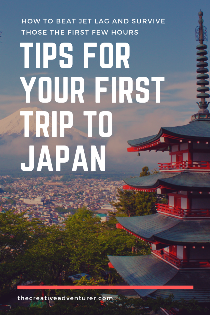 First Time Travelling to Japan? Here's how to beat that jet lag and make the most of your first few hours