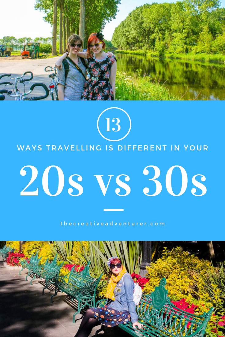13 Ways Travelling the World in your 30s is Different than in your 20s