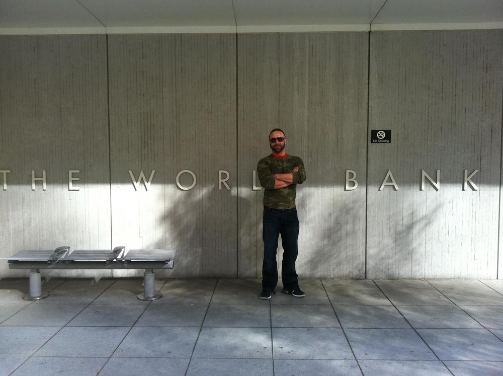 Showing at the World Bank in Washington DC.