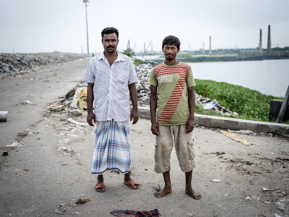 Aminbazar Sanitary Landfill, Dhaka.