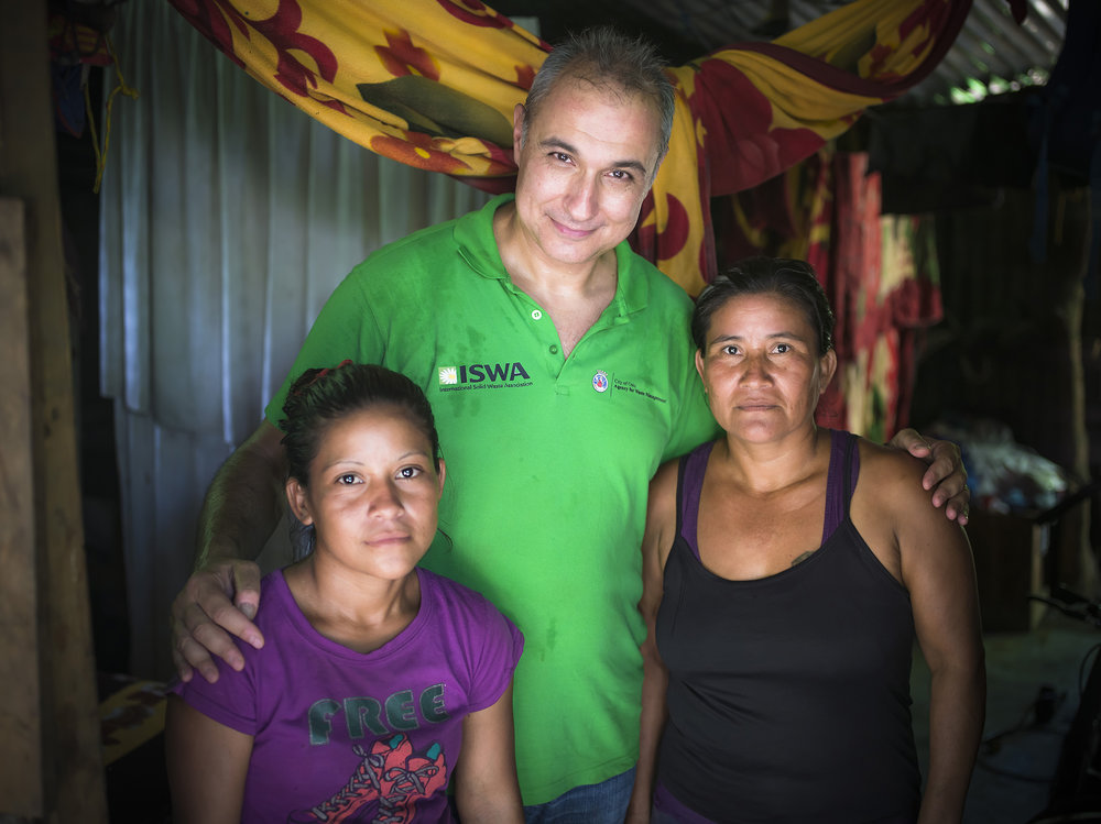 Antonis meets two mothers, Majury and Argelica, who we have 4 of their kids in the program. They live in a home made from found materials in the woods alongside the lake.