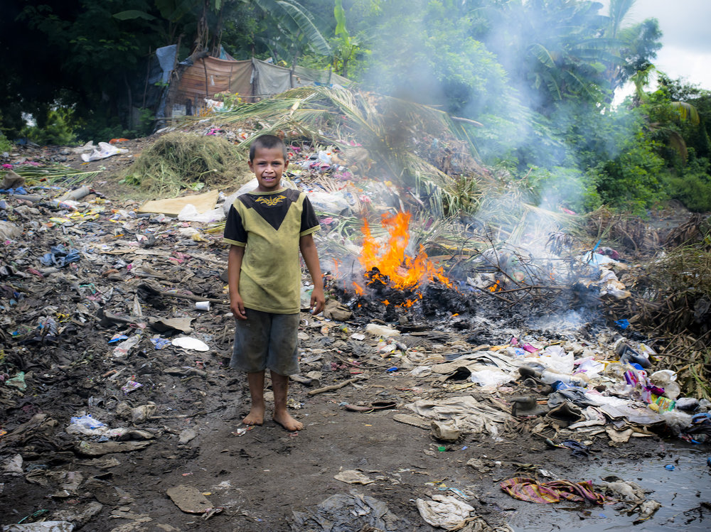 Pedro takes us on a tour to the dump where he goes to find materials and food like watermelons growing in the garbage..
