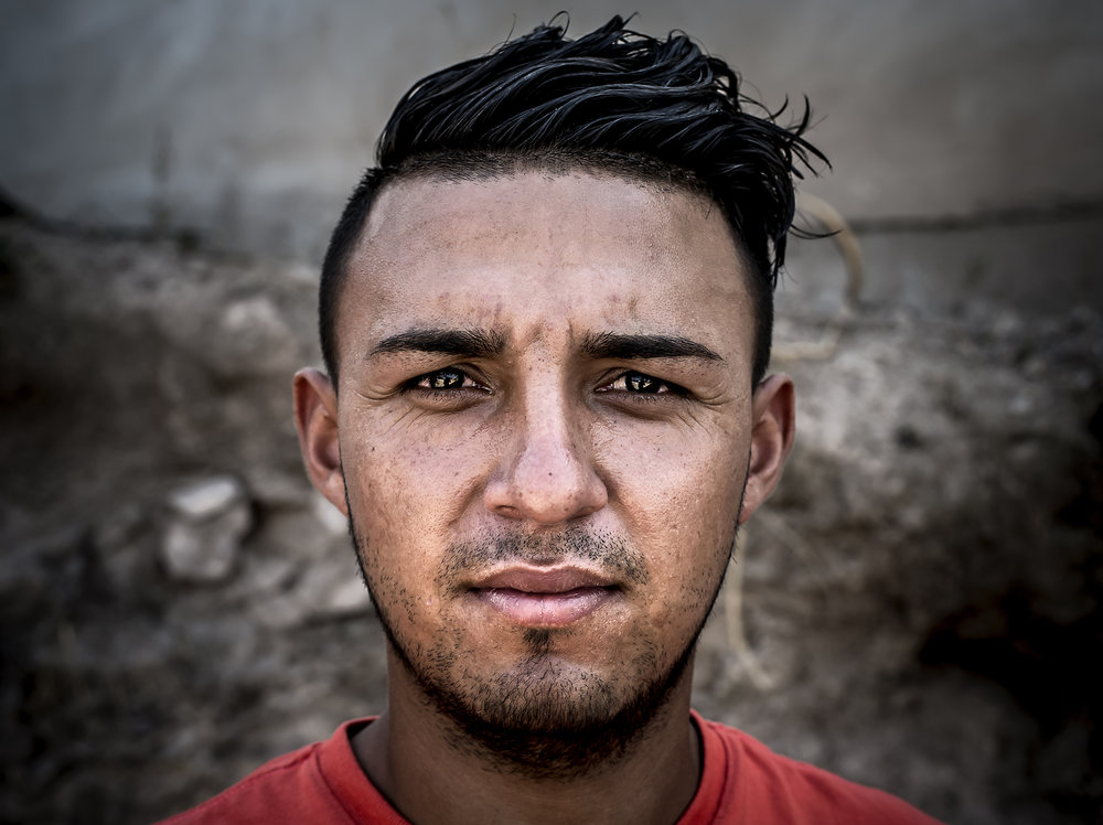 Pastor Jeony encountered Rene in the dump in search for toys at age 4 years old. The pastor later took him to the school where he was taken care of till this day. He is now 23 and the supervisor for the new school program they are opening at the San Pedro Sula trash dump.