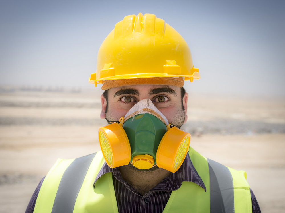 Abdullah Quftan works with sanitation for the country Jordan.