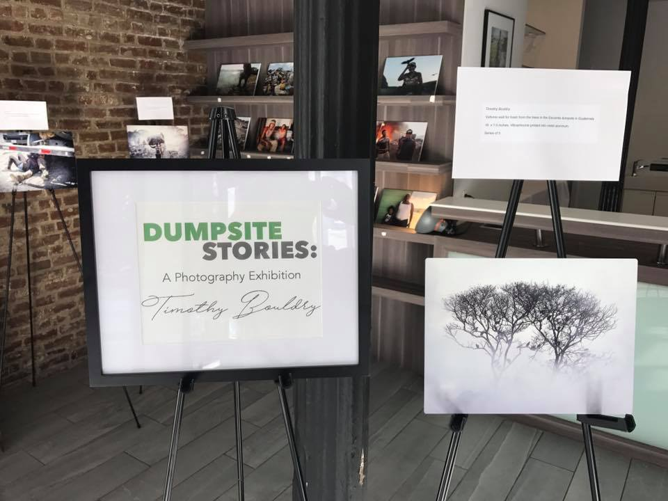Dumpsite Stories: Exhibit in Chelsea, New York City Oct 2017