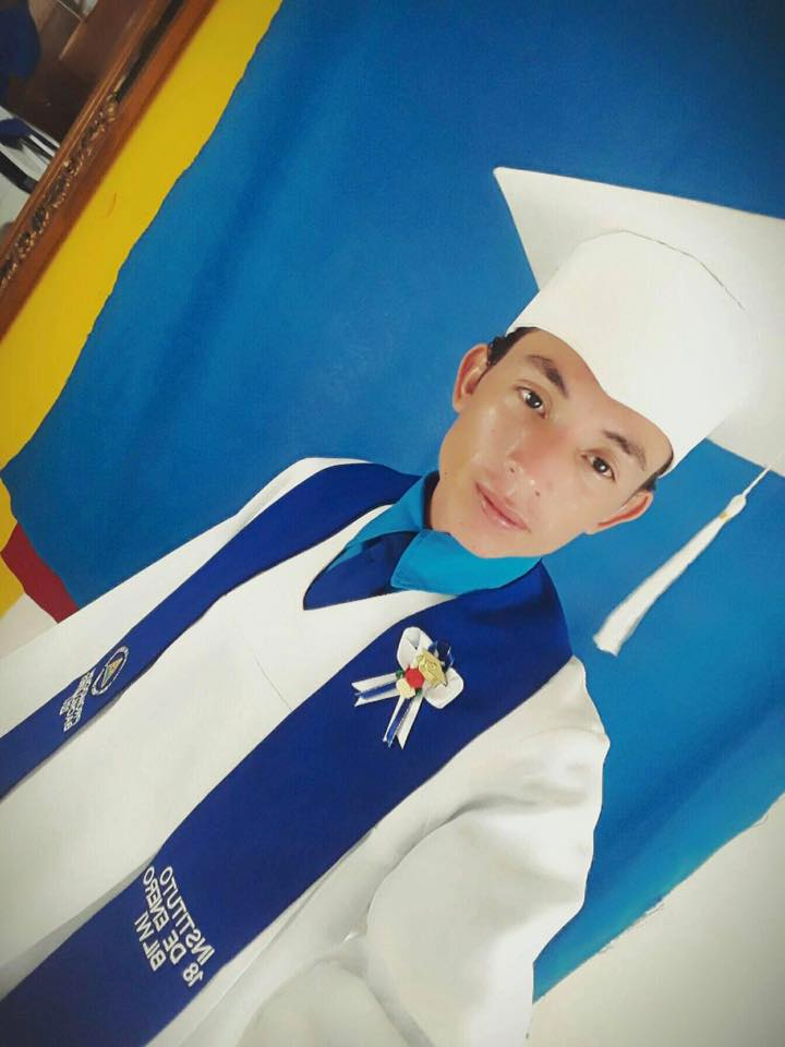 Congratulations to Oscar for graduating high school. This next year we will place him into a technology school so he can get a degree and start working in a field he enjoys.