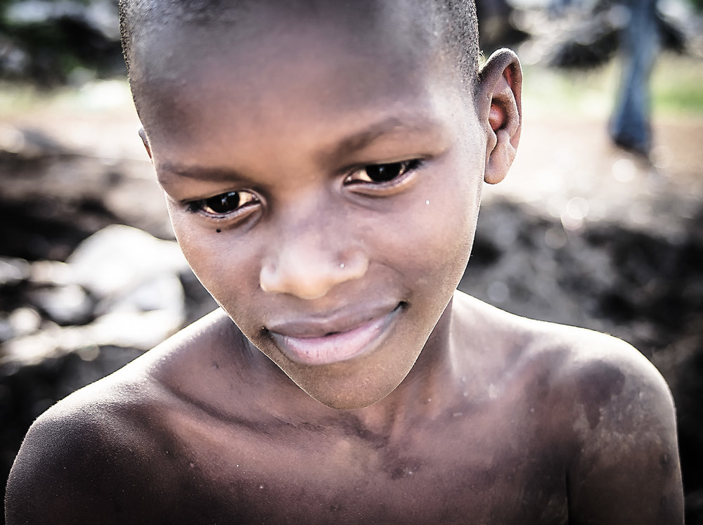 A child from the Mbarara dumpsite.