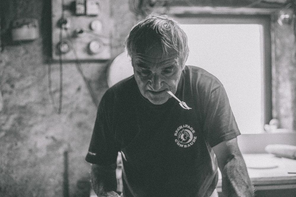 Artisan, Baker, Photographer, Portrait, France, Auvergne, Small Business, Stock Image