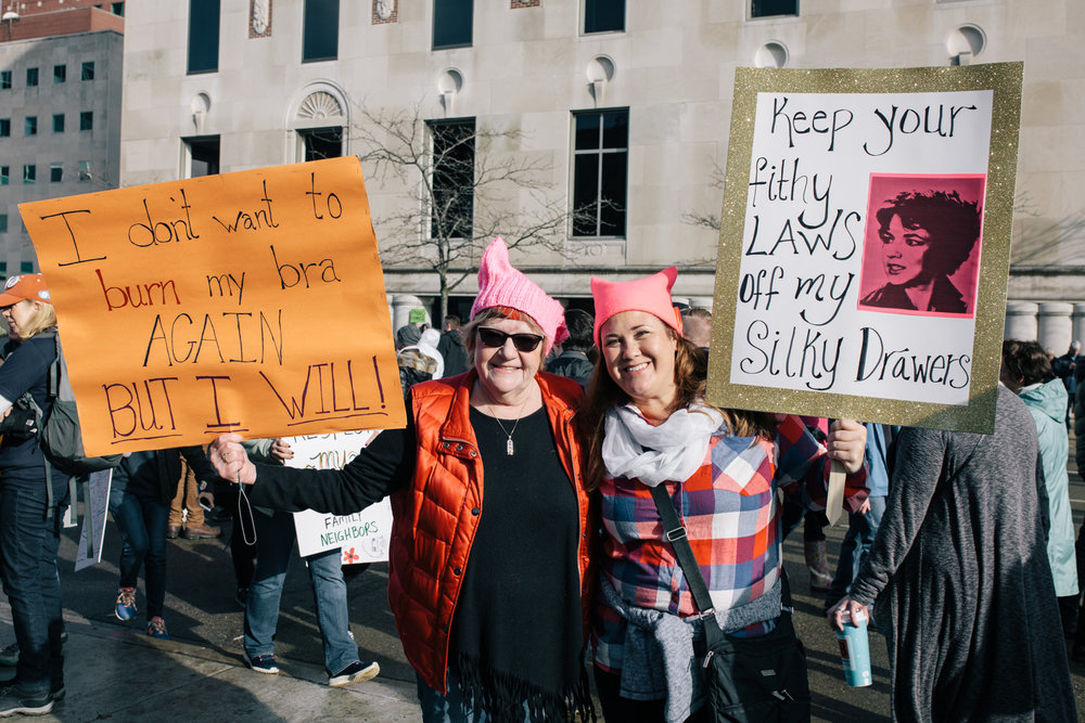 Documentary, photojournalism, Women's March, Lansing, Michigan