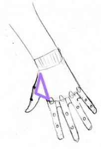 Hand: Reaching Down: Muscle between thumb & body of hand