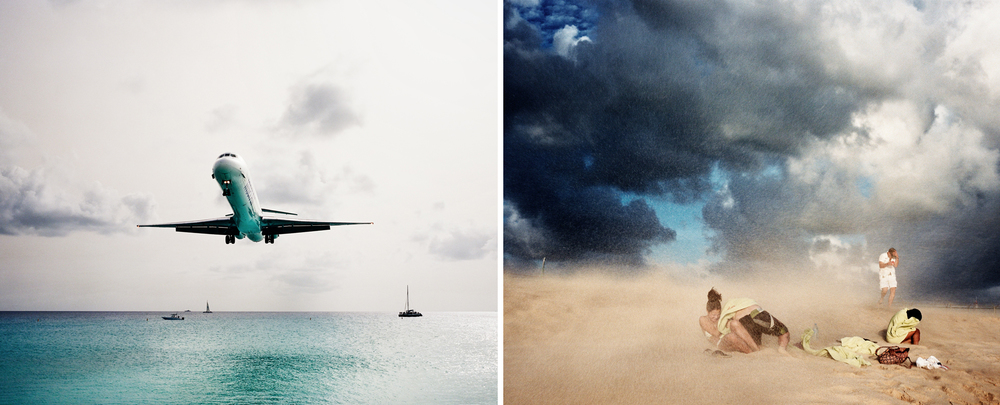 Photography by Thomas Prior, 2010. Left to right:  Approach ;  Jet Blast .