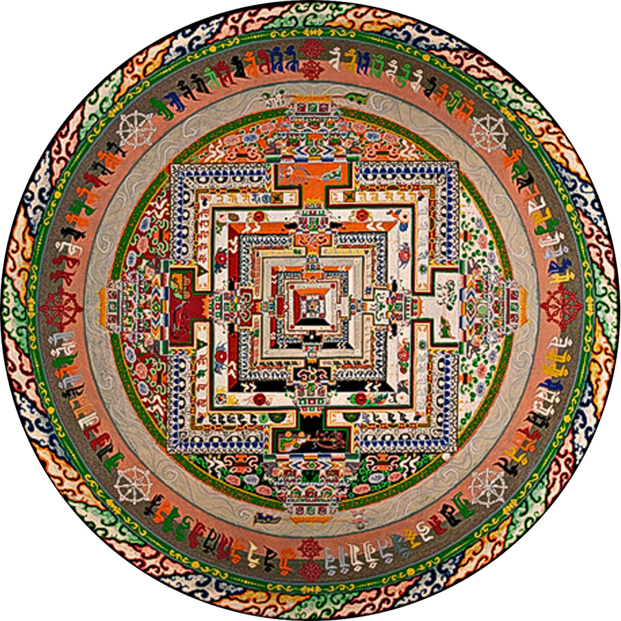 Image: Kalachakra (Wheel of Time) Sand Mandala by the Venerable Losang Samten Photo Credit: Thomas Bugaj