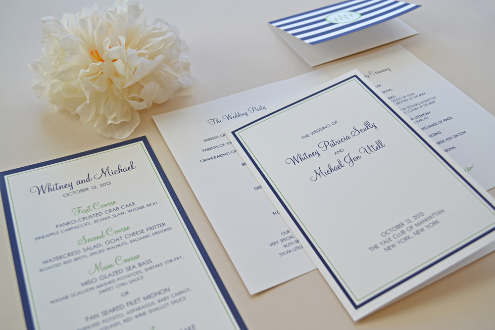 Custom Day of Stationery by Simplicity Papers