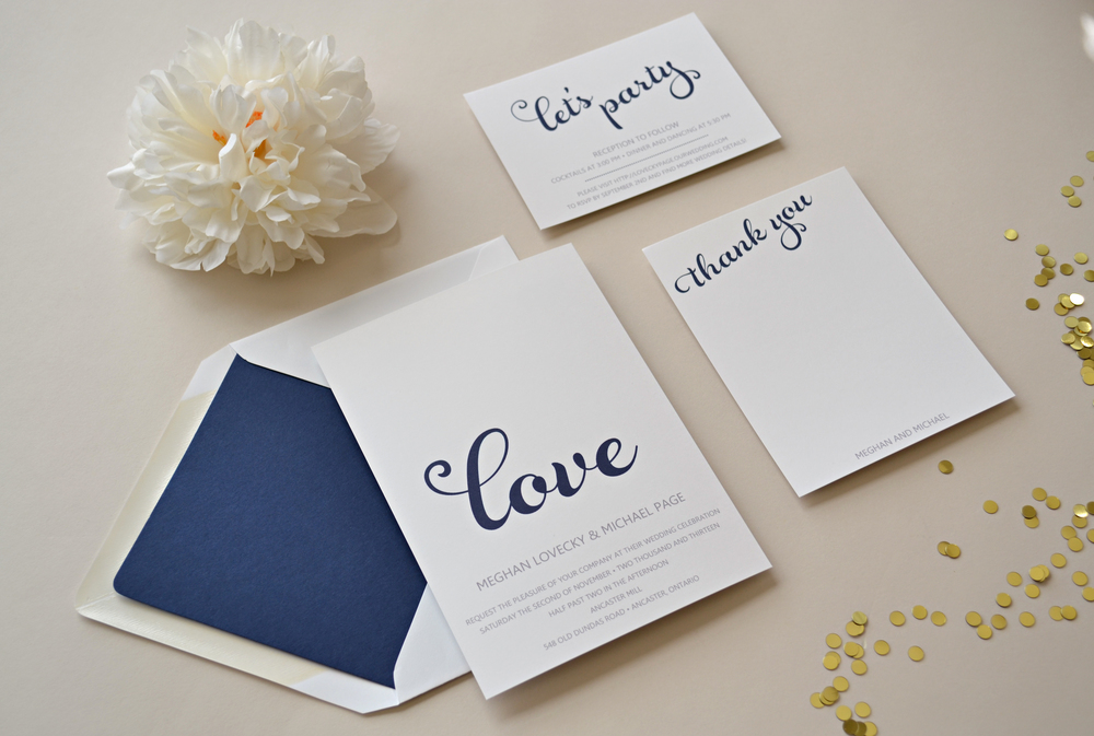 Custom Wedding Suite by Simplicity Papers
